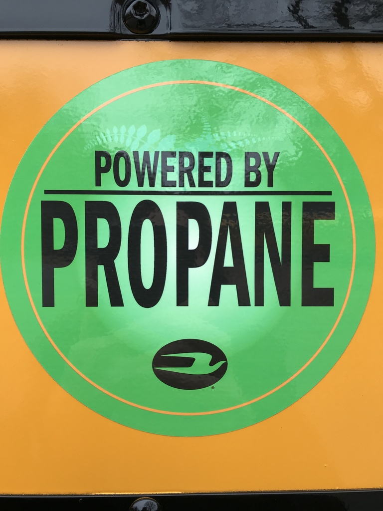 Propane Image Sign