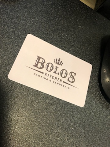 Bolos Kitchen Card