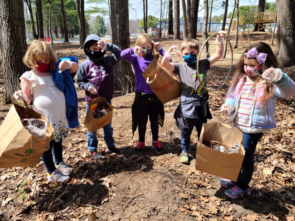 KFS Students Playground clean up